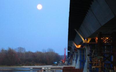 Budowa mostu narz. Wiśle wmiejscowości Kamień wraz zbudową dróg dojazdowych