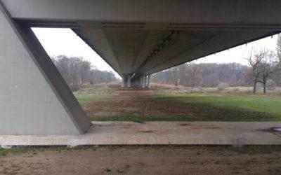 Przegląd systemu podwieszenia orazelementów wyposażenia Mostu Rędzińskiego iestakad dojazdowych domostu weWrocławiu