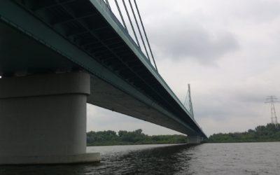 Wykonanie przeglądu systemu podwieszenia orazcięgien kotwiących Mostu Solidarności wPłocku