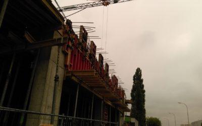 Rozbudowa hali warsztatowej przy Al.Reymonta 50 wWarszawie