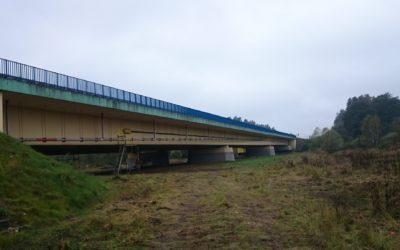 Naprawa konstrukcji nośnej mostu przezrzekę Bóbr wkm 69+560 drogi krajowej nr18 koło m. Golnice. Obiekt północny. JNI 01023370