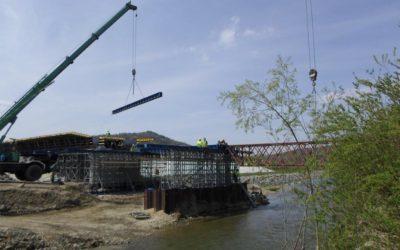 Dostawa imontaż wyposażenia orazwykonanie sprężenia mostu naPotoku Paleczka wm. Zembrzyce