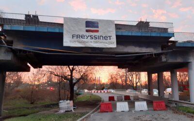 Remont wiaduktu wPruszkowie