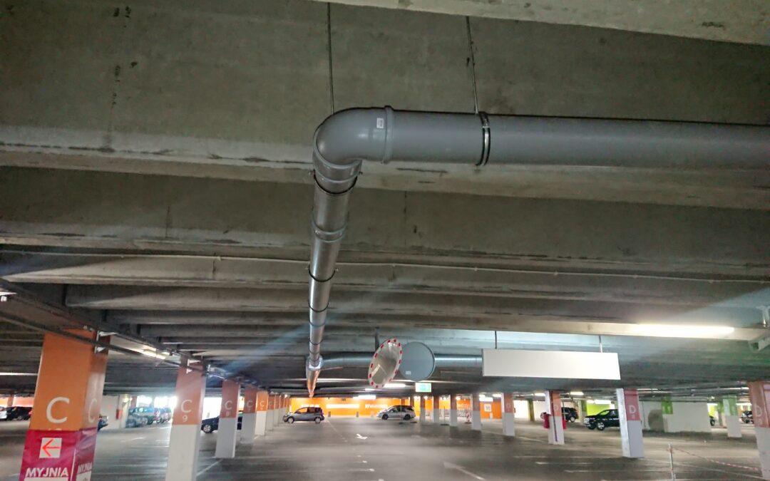 Remont parkingu wielopoziomowego wJankach wzakresie ograniczenia przecieków przezdylacje
